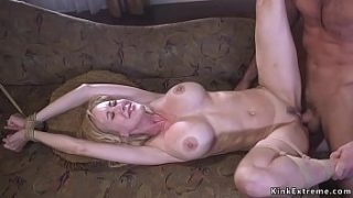 tied up milf rough banged by biggest fan