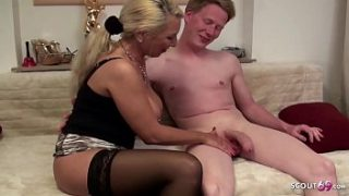 MOTHER SHOWS STEP SON HOW ANAL SEX GOES German MILF – German m.